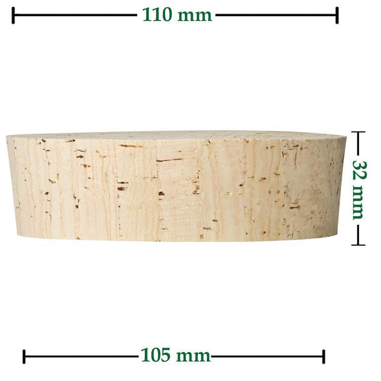 Fasskorken Größe 32x110/105mm kaufen