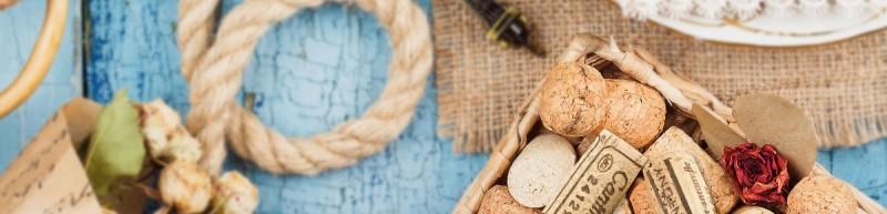 Korken für Wein und zum Basteln