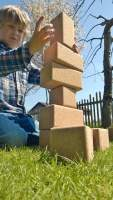 Baukloetze aus Kork kaufen