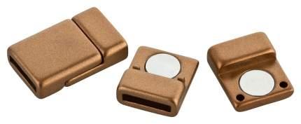 Magnetverschluss für Armbänder   Bronze   flach   für 10 mm Armbänder
