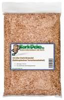 Kork-Granulat, Kork-Schrot als Einstreu für Terrarien und Nagetiere 10 Liter kaufen