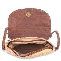 Tasche aus natürlichem Kork-Stoff / Kork-Leder