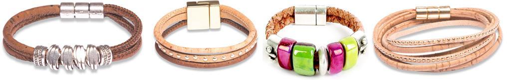 Armband aus Korkleder