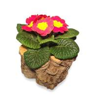 Kleiner Übertopf für Blumen aus Kork