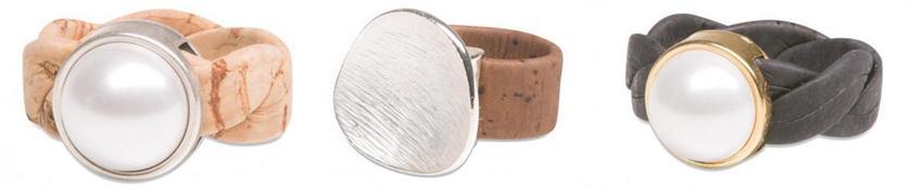 Ringe (Schmuck) aus Kork Online Shop