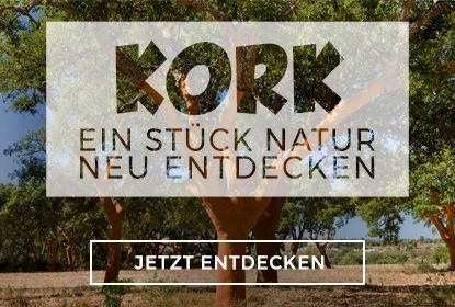 Kork, ein Stück Natur